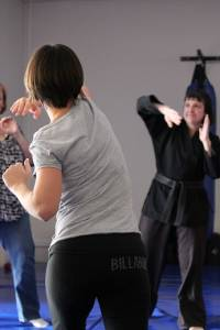 Womens Self Defence Perth - Elbow