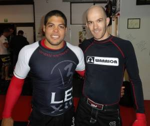 BJJ Perth - Andre Galvao and Sensei