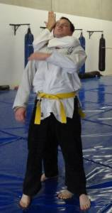 Jujitsu Perth - Figure 4 Choke