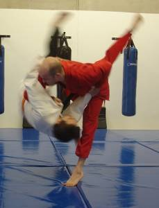 Judo Perth - Inner sweep throw
