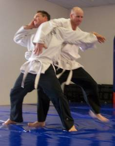 Jujitsu Perth - Arm and Chest Lock