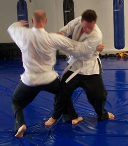 Jujitsu Perth - Knee Drop