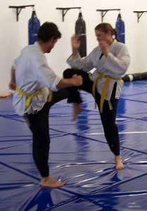 Karate Perth - Leg Check