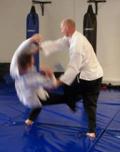 Judo Perth - Moving Ankle Throw