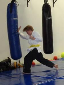 Karate Perth - Heel of Palm Strike