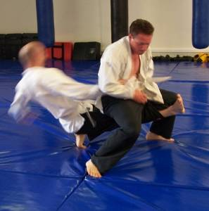 Jujitsu Perth - Rear Leg Lift