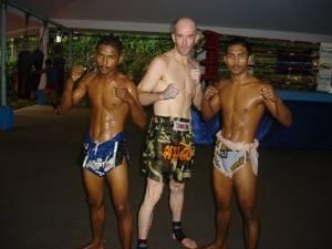 Muay Thai Perth - training in Thailand